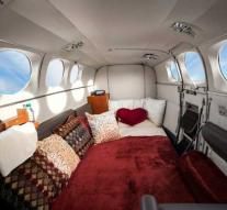 This company offers special 'Mile High Club' flights