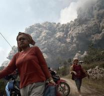 Thousands evacuated after volcano eruption