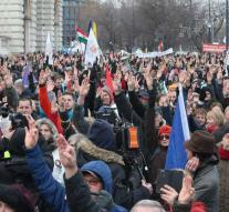 Thousands in Hungary at demonstrations