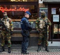 Threat level Belgium too high around Christmas