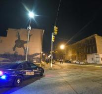 Three gunmen opened fire in Baltimore