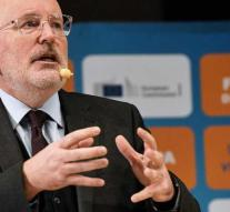 Timmermans does not see a coup like Blok