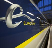 Travelers night stuck in Eurostar after collision
