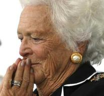 Treatment Barbara Bush (92) discontinued