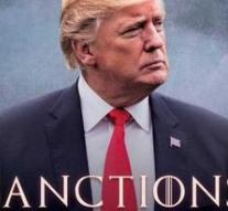 Trump announces sanctions against Iran with 'movie poster'