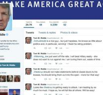 Trump changes online in Voldemort