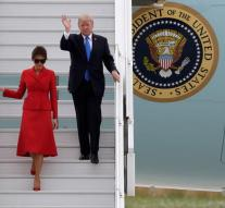 Trump in France for a two day visit