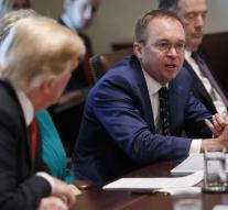 Trump: Mulvaney becomes a new chief of staff