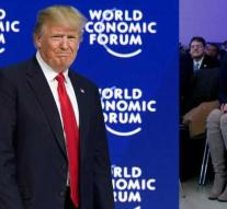 Trump PR girl steals show at Davos with $ 800 boots