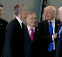 Trump pushes Prime Minister Montenegro aside