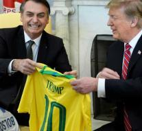 Trump sees a possible NATO member in Brazil