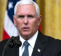Trump sends Pence to Asia