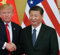Trump: shot in negotiations with China