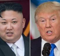 Trump threatens: Kim is not sitting anymore
