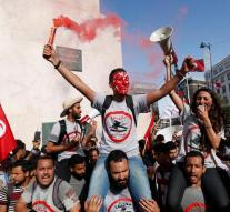 Tunisian protests against amnesty corruption