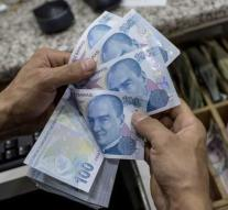 Turkish lira drops to new low