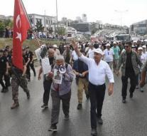 Turkish police arrested protesters