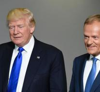 Tusk: not in line with Trump over Russia