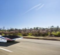 Twente holds solid lead solar race