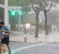 Typhoon moves over Tokyo: at least two deaths