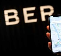 Uber checks whether everything is going well