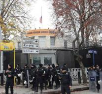US Embassy in Turkey closed to threat