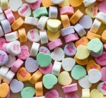 Valentine this year without candy hearts