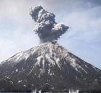 Volcano Krakatau caused tsunami of 46 meters high
