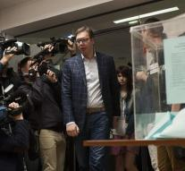 Vucic wins presidential election Serbia