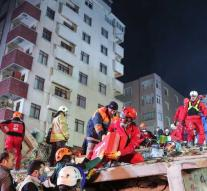 Weather body recovered after flat disaster Istanbul