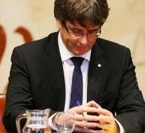 What is Puigdemont going to explain?