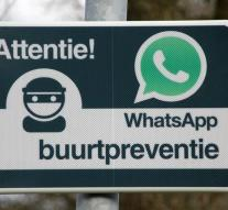 WhatsAppgroep constitutes eyes and ears around