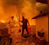 Wildfires are largest ever in California
