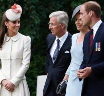 William and Catherine to commemorate Belgium