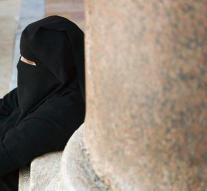 Woman in nikab does not see face and is denied in Belgium