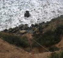 Woman rides from cliff, rescued 6 days later
