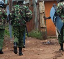 ''Women slain in attack on police Kenya'