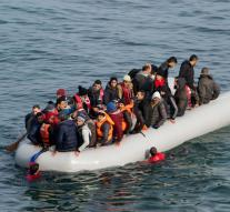 Fewer refugees via Turkey to EU