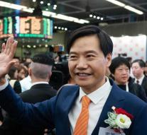 Xiaomi founder sees difficult exhibition debut