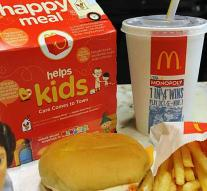 Xtc in Happy Meal of 4-year-old boy