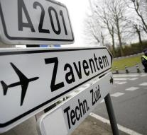 Zaventem also closed Thursday