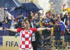 Croatian president steals hearts from TV viewers worldwide