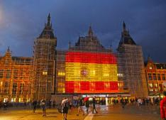 CS Amsterdam in colors Spanish flag