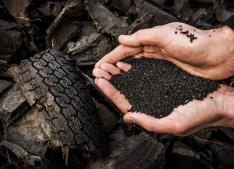 Declaration for car tire waste on sports fields