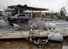 Maria leaves Puerto Rico without power