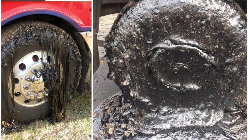 Melting Road Demolishes Car Tires In Australia Hot
