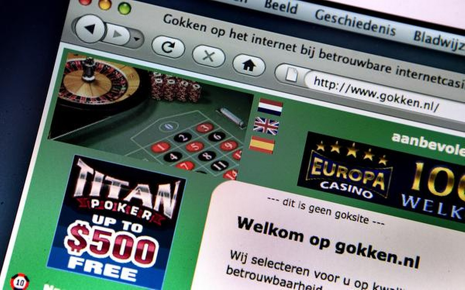 Is online gambling legal in netherlands casino royale lass vegas