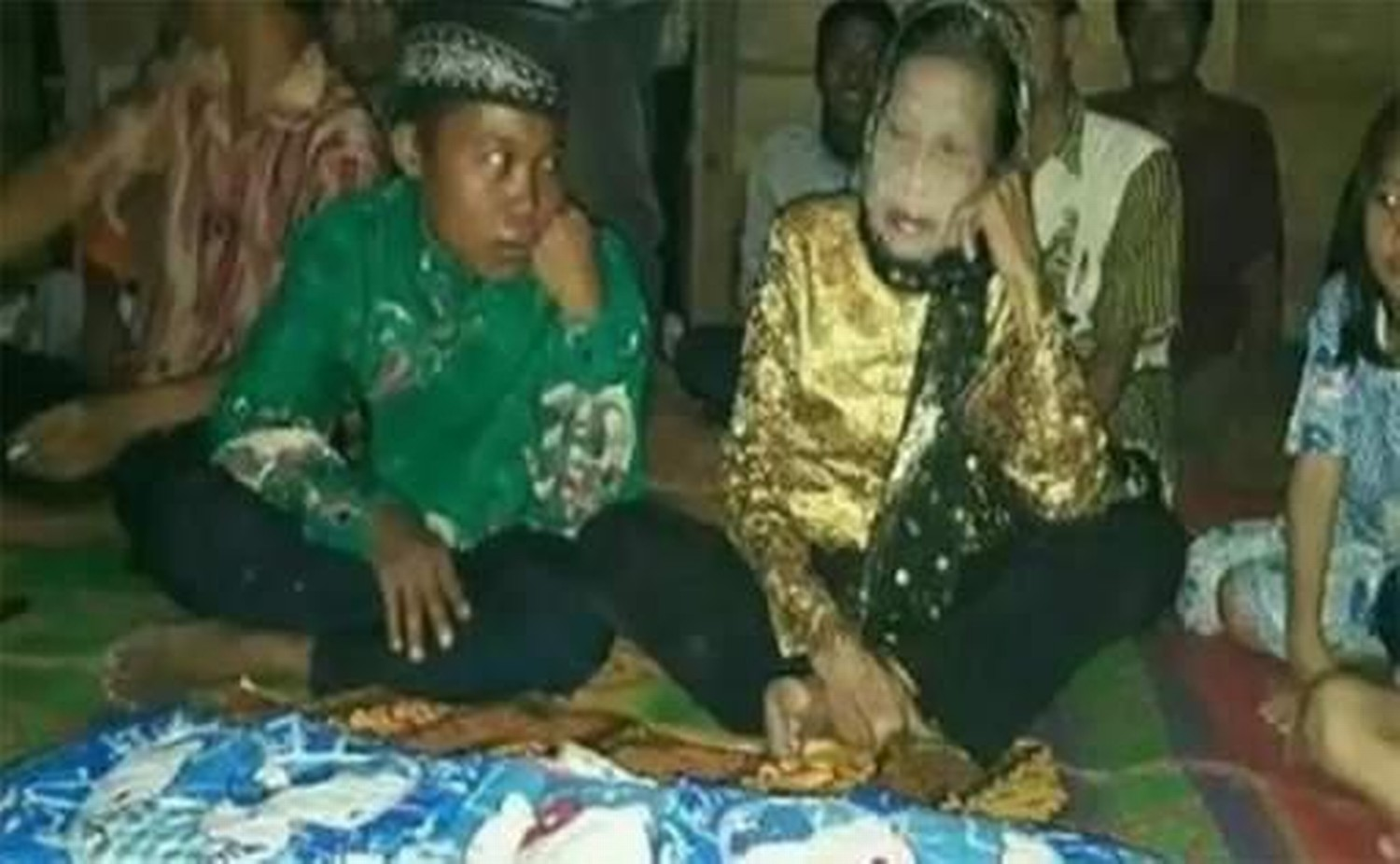 Image result for indonesia 16 age boy married a 71 old woman